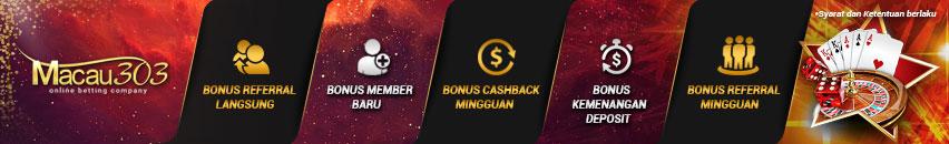 promo bonus macau303.id